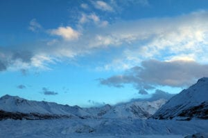 Matanuska Glacier is a fun Alaskan Adventure