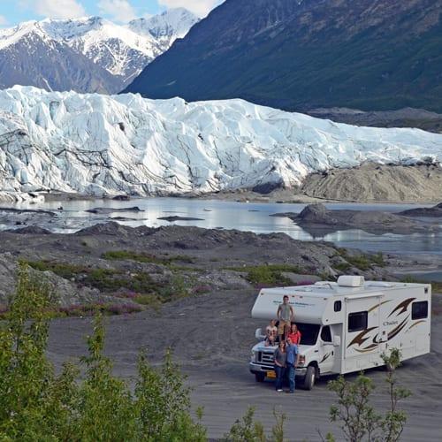 Tour the Matanuska Glacier a Glacier near Wasilla Alaska