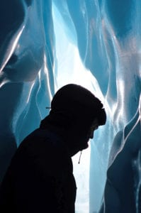 Explore the beautiful ice caves of Matanuska Glacier