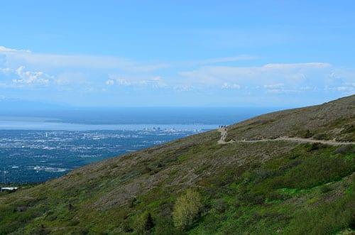 Sightseeing near Anchorage AK Flattop Mountain Hiking Trail