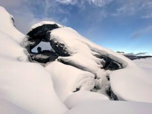 Basal Ice Arch Matanuska Glacier