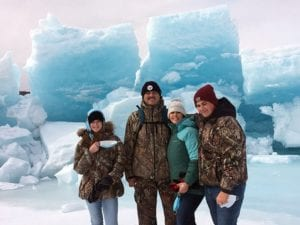 The whole family will enjoy a hike on the Matanuska Glacier.