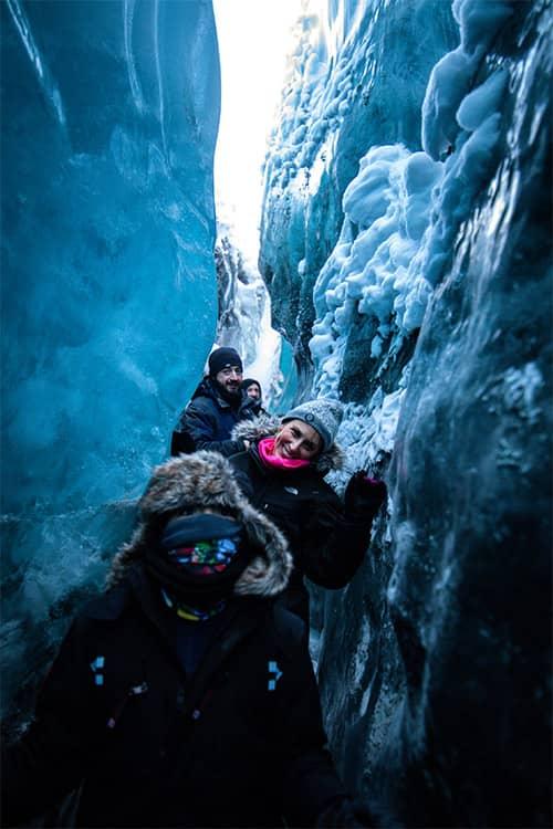 Alaska ice cave tour matanuska glacier