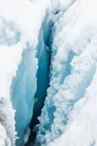 Blue Crevasse