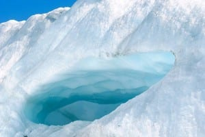 unguided tour of Matanuska Glacier